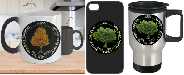 Horoscope Sign Gifts on a Celtic theme - Celtic Trees